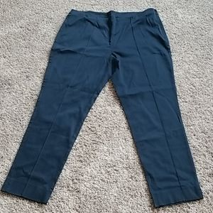 Brooks Brothers navy ankle pants-14